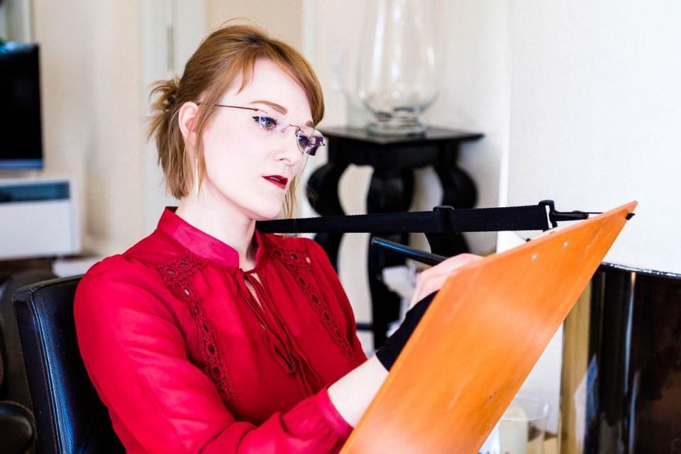 conny doll lifestyle: Ein Bloggeburtstags-Netzwerk-Fest - Danke Texterella, Blogjubiläum, Veronika Gruhl, Illustratorin