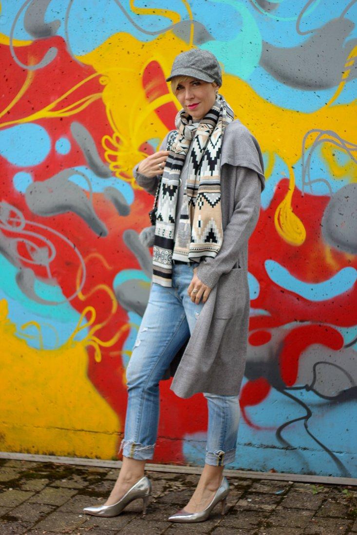conny doll lifestlye: Fashionblog Frauen40plus, Frühlingslook, Übergangslook