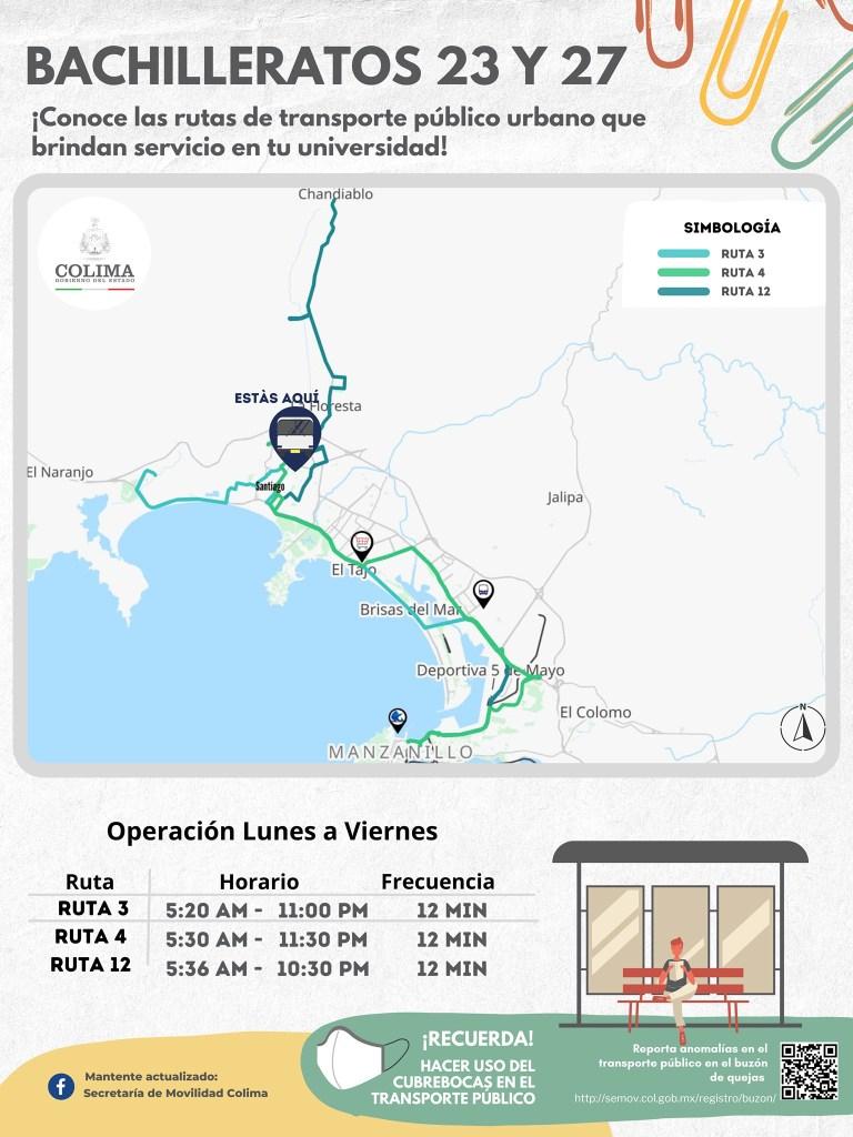 Transporte Publico en Manzanillo