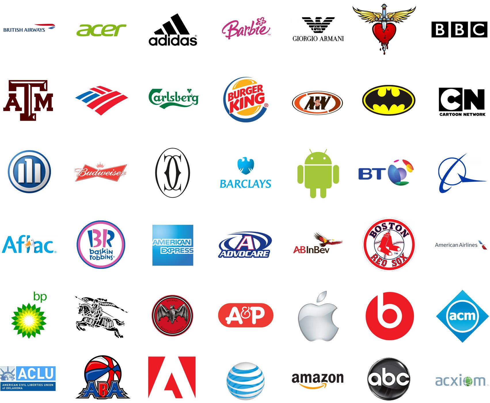 Trivia Puedes Adivinar El Nombre De Estos Logos