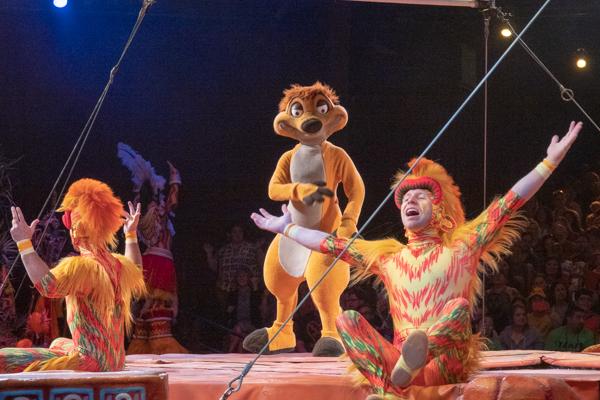 フェスティバル・オブ・ザ・ライオンキングのモンキー