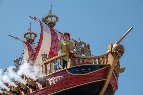ディズニー・フェスティバル・オブ・ファンタジー・パレードのピーターパン