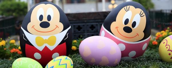 香港ディズニーランドのミッキーとミニーのエッグ
