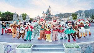 香港ディズニーランドのクリスマス2019