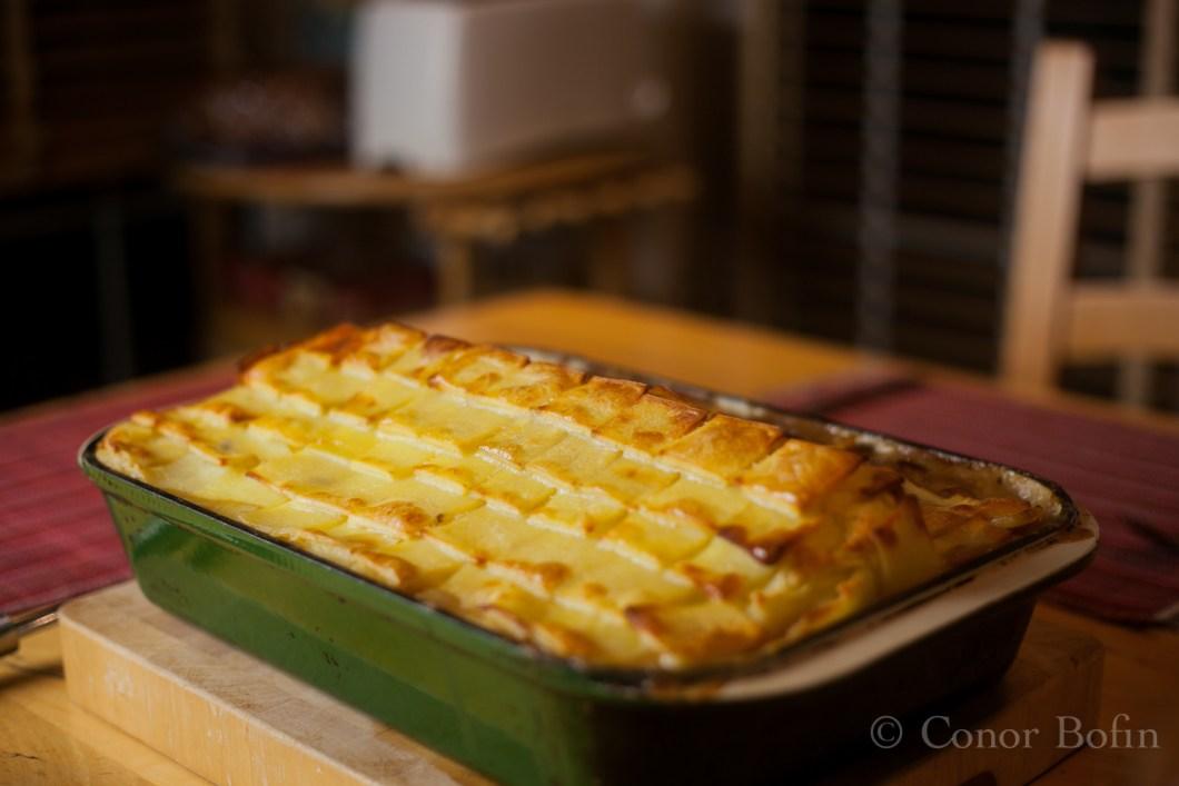 Engineered cottage pie