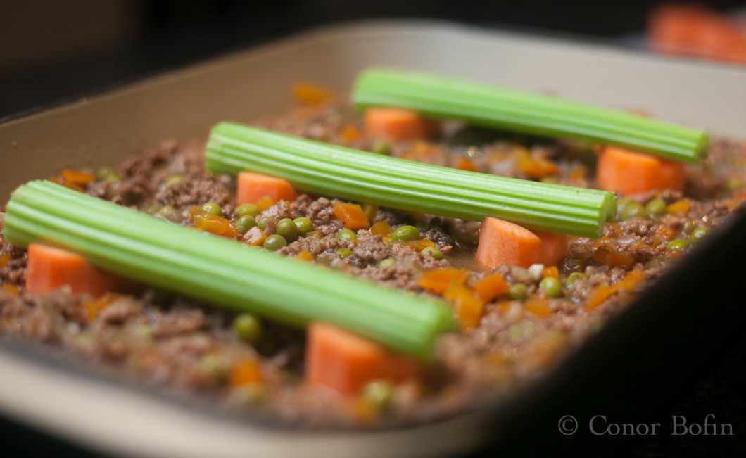 Engineered cottage pie