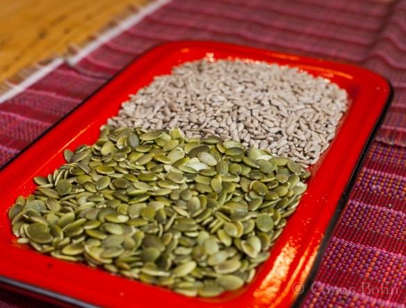 Pumpkin Seeds and Sunflower Seeds