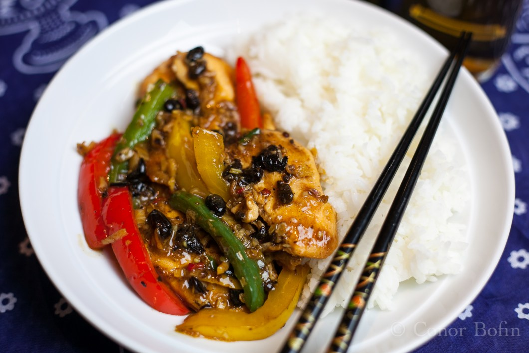 Chicken with Peppers and Black Beans (19 of 19)
