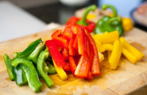 Three kinds of pepper