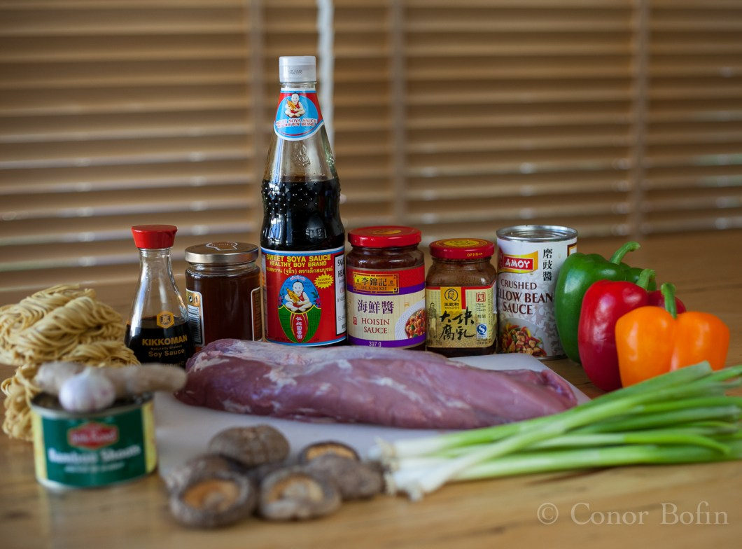 Simple ingredients to make a delicious Chinese dish.