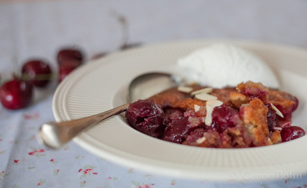 Delicious cobbler. It will heal your soul, if you will pardon the awful pun.