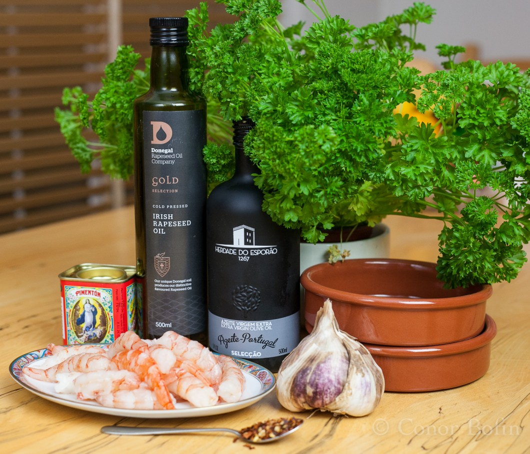 Ingredients from all over the place. Will Donegal hold it's own in international company?