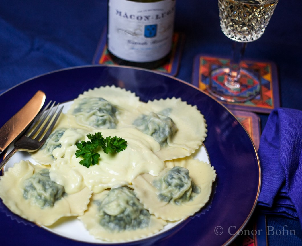 Smoked haddock, goats cheese and spinach ravioli (13 of 15)
