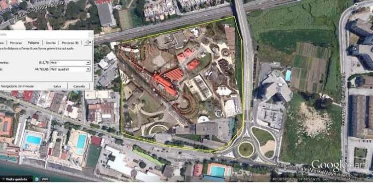 4-parco-terrestre-inserito Foto da Google Earth n. 3 – area ex Marzotto sud (parco terrestre)