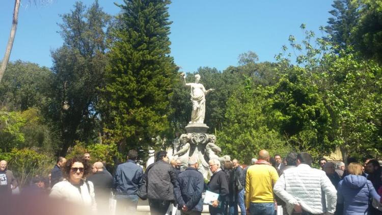 4 - Pausa nello splendido Orto Botanico della Reggia di Portici