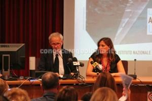 foto 2. conferenza stampa INGV terremoto Amatrice
