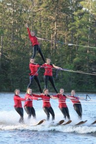 Chain Water Skiers