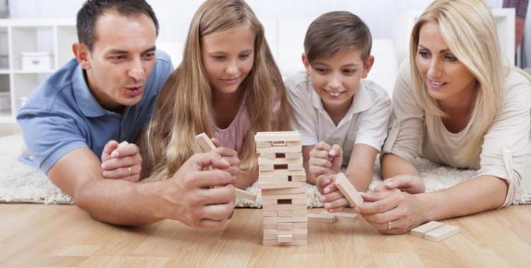 Compartiendo actividades en familia