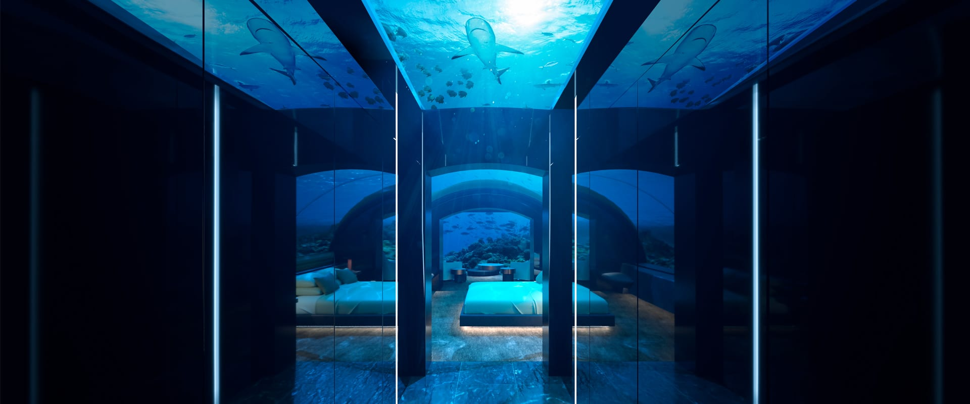 Maldives under water suite