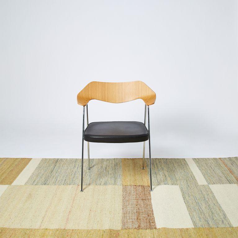 tapis en jute et coton beige 170 x 240 cm