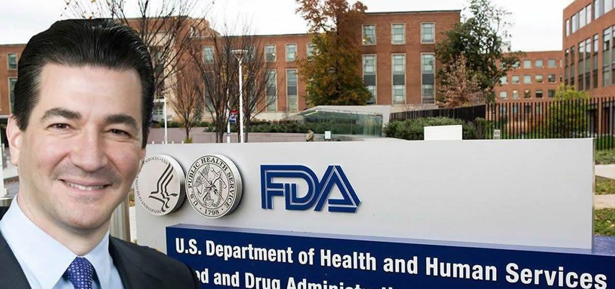 Scott Gottlieb, comisionado de la FDA