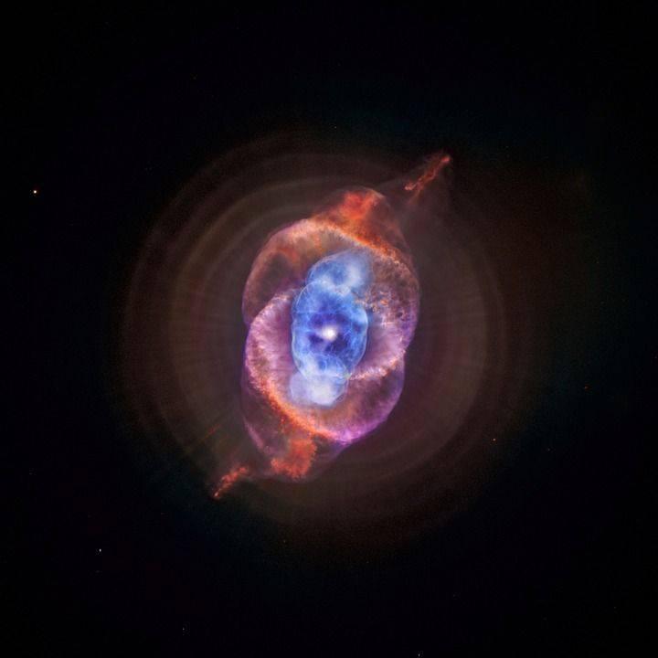 Nébuleuse De Le Œil De Chat, Ngc 6543, Cosmos, Espace
