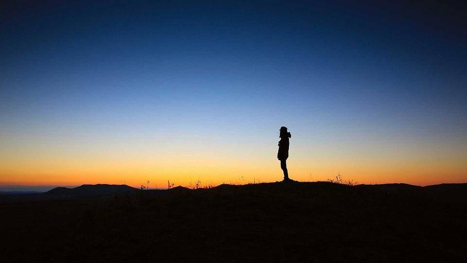 Coucher De Soleil, La Paix, La Solitude, Calme, Nature