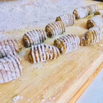 Ñoquis de batata y trigo sarraceno