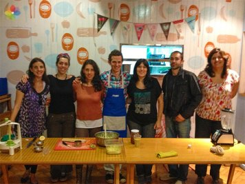 Taller grupal en Picnic, Ciudad de Buenos Aires