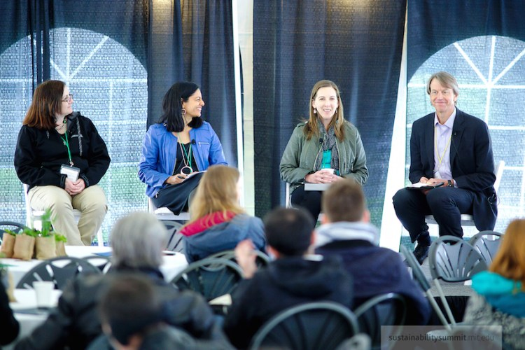 The Role of Retail in the Circular Economy. Featuring panelists from Whole Foods, Stonyfield and the Environmental Defense Fund.