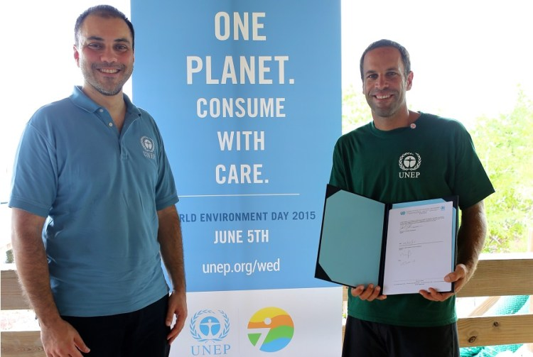 Jack Johnson_UNEP_Designation