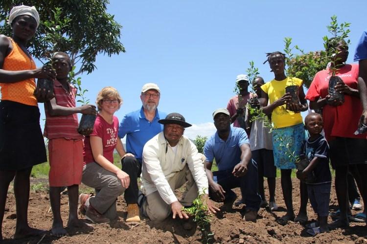 Sustainable Tree Plating in Haiti - Timberland