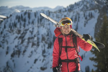 Caroline Gleich, Wasatch Mountains, Uta