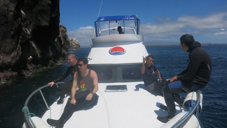 Dive Boat Galapagos