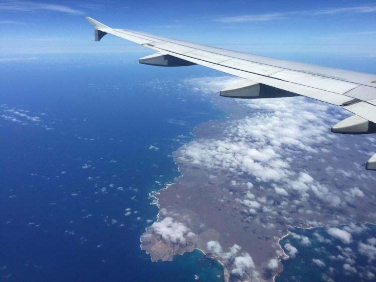 Galapagos Islands Flight