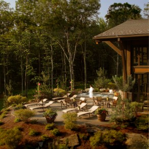 Woodloch Spa Deck
