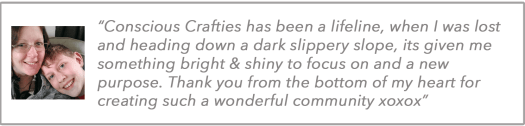 Conscious Crafties Review Ceri Smith