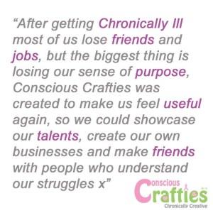 Conscious Crafties Story
