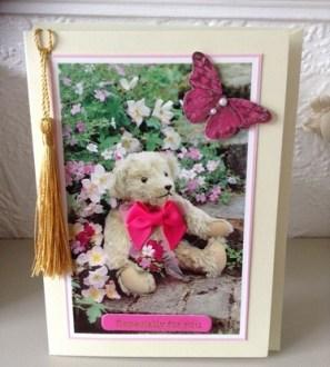 Handmade Especially For You Card