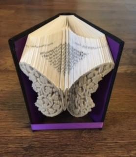 Butterfly Lace Book Folding Pattern