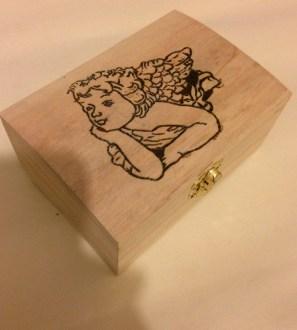 Cherub keepsake box