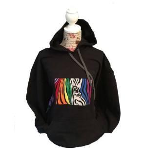 EDS Zebra hoodie sweatshirt top