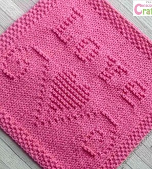 Pic Monkey Rose Pink Love Has Wings facecloth 8