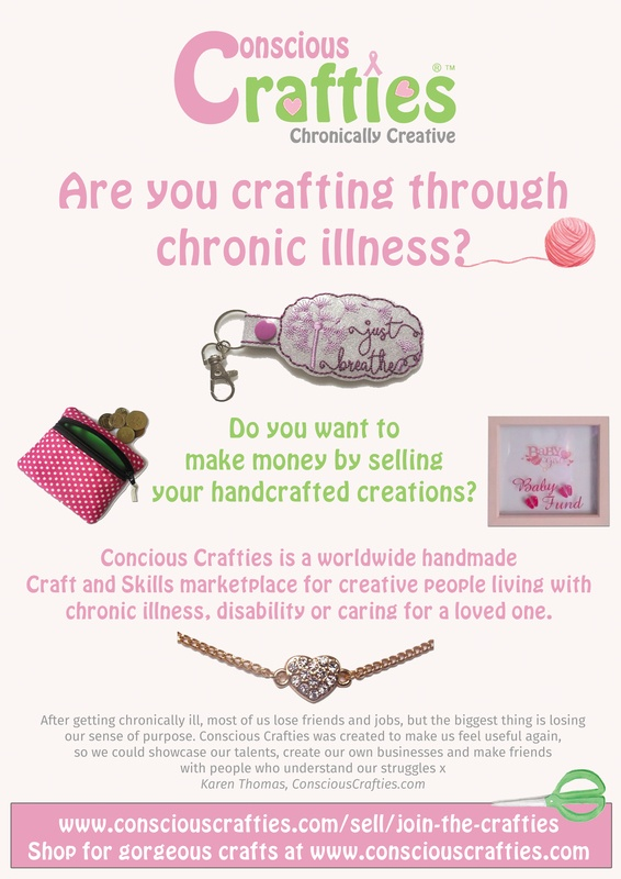 custom designed marketing flyers conscious crafties shop owner laura cordell