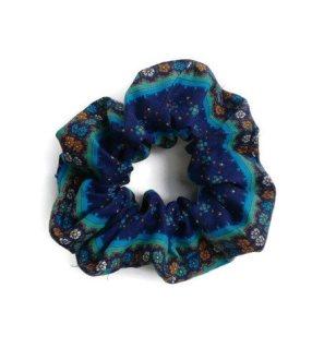 blue scrunchy