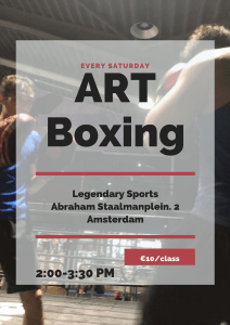 ART Boxing @ Legendary Sports | Amsterdam | NL