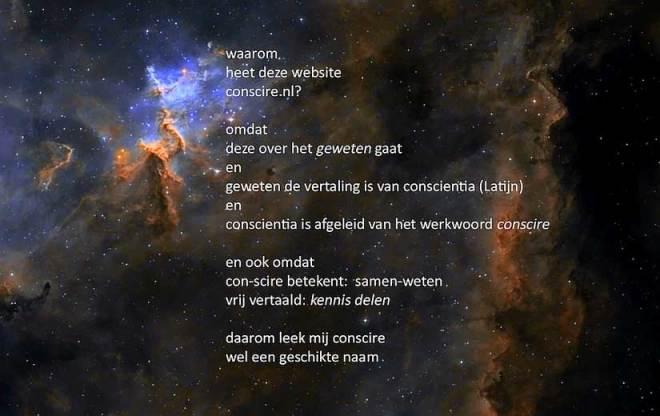 conscire.nl in de sterren geschreven