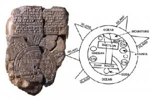kleitablet Kosmologie vd Bijbel