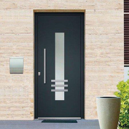 porte-entree-aluminium-gris-droit