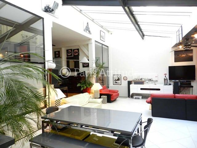 Paris Loft 2 Chambres 130m² Montmartre